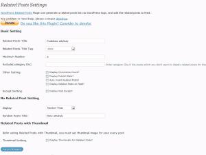 Pokrewne artykuły - plugin do WordPressa