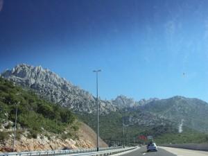 Chorwacja 2010 - autostrada k Zadar